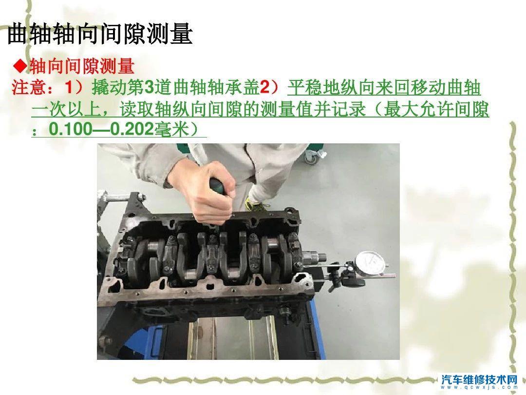 【发动机曲柄连杆机构故障检修检测方法】图1